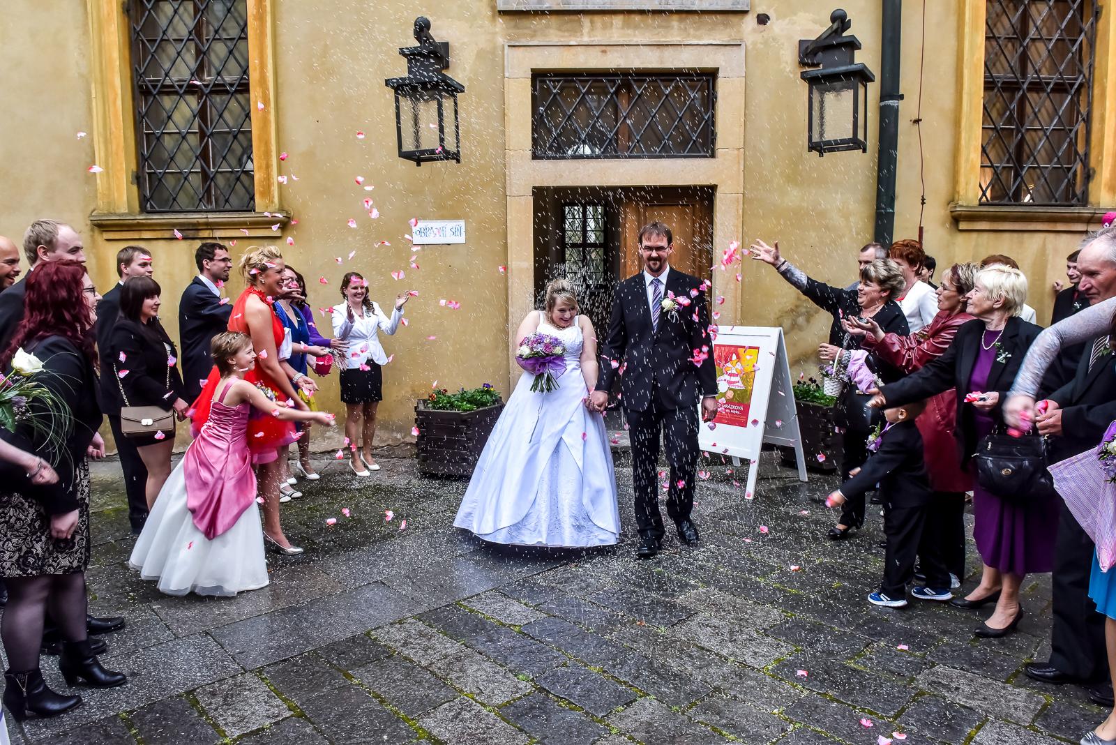 Focení svateb není povinnost, je to radost!