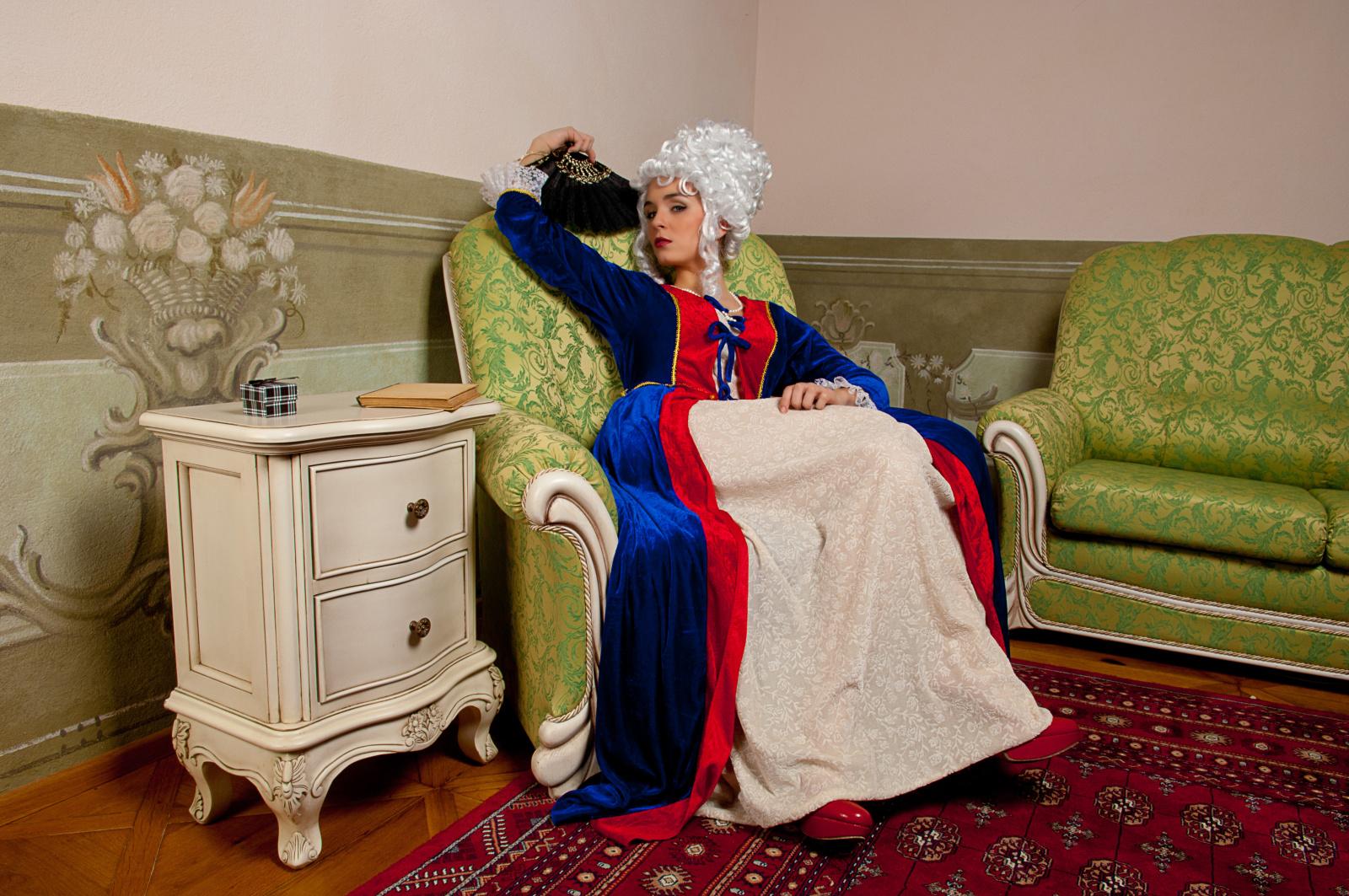 Focení na zámku - Boudoir