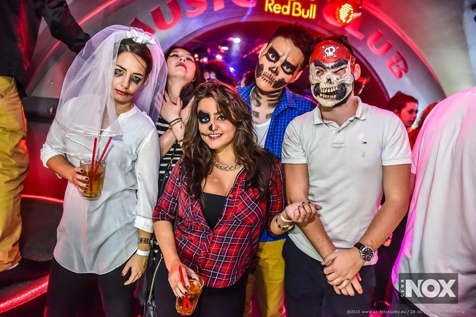 Halloweenská párty v Nox Clubu