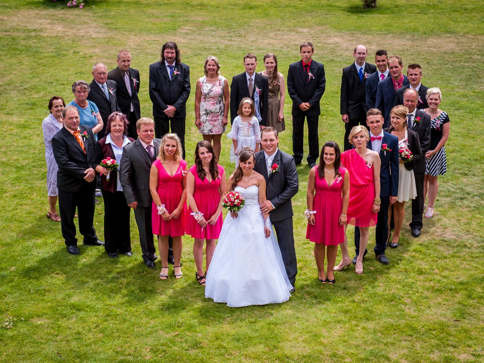 Focení svateb by měl být především koníček, který fotografa baví