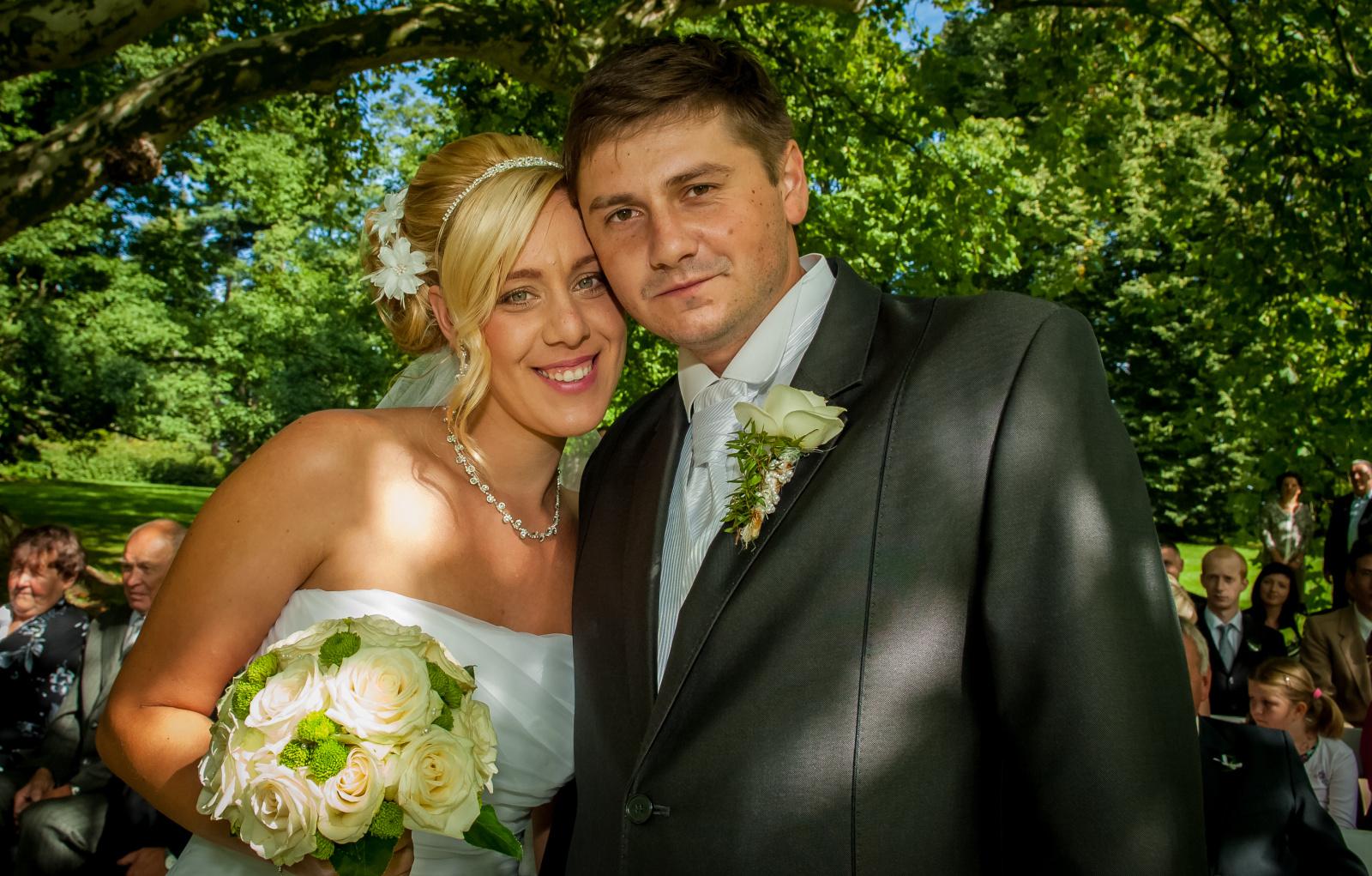 Svatební fotografie jsou vzpomínkou na celý život