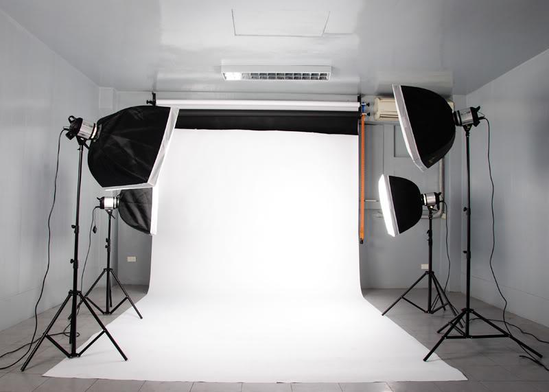Fotoateliér ilustrační obrázek