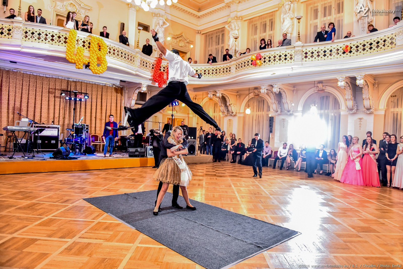 Fotograf na ples, fotografie z plesu
