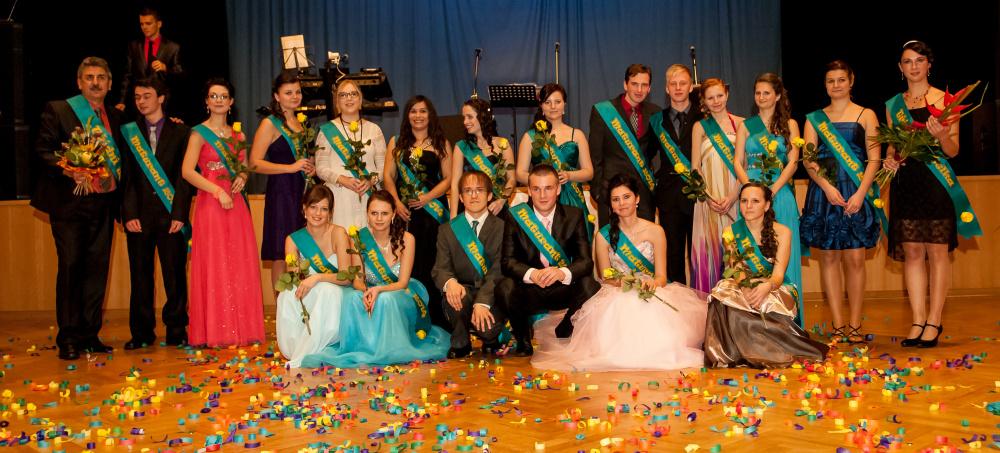 Focení maturitních plesů 2014