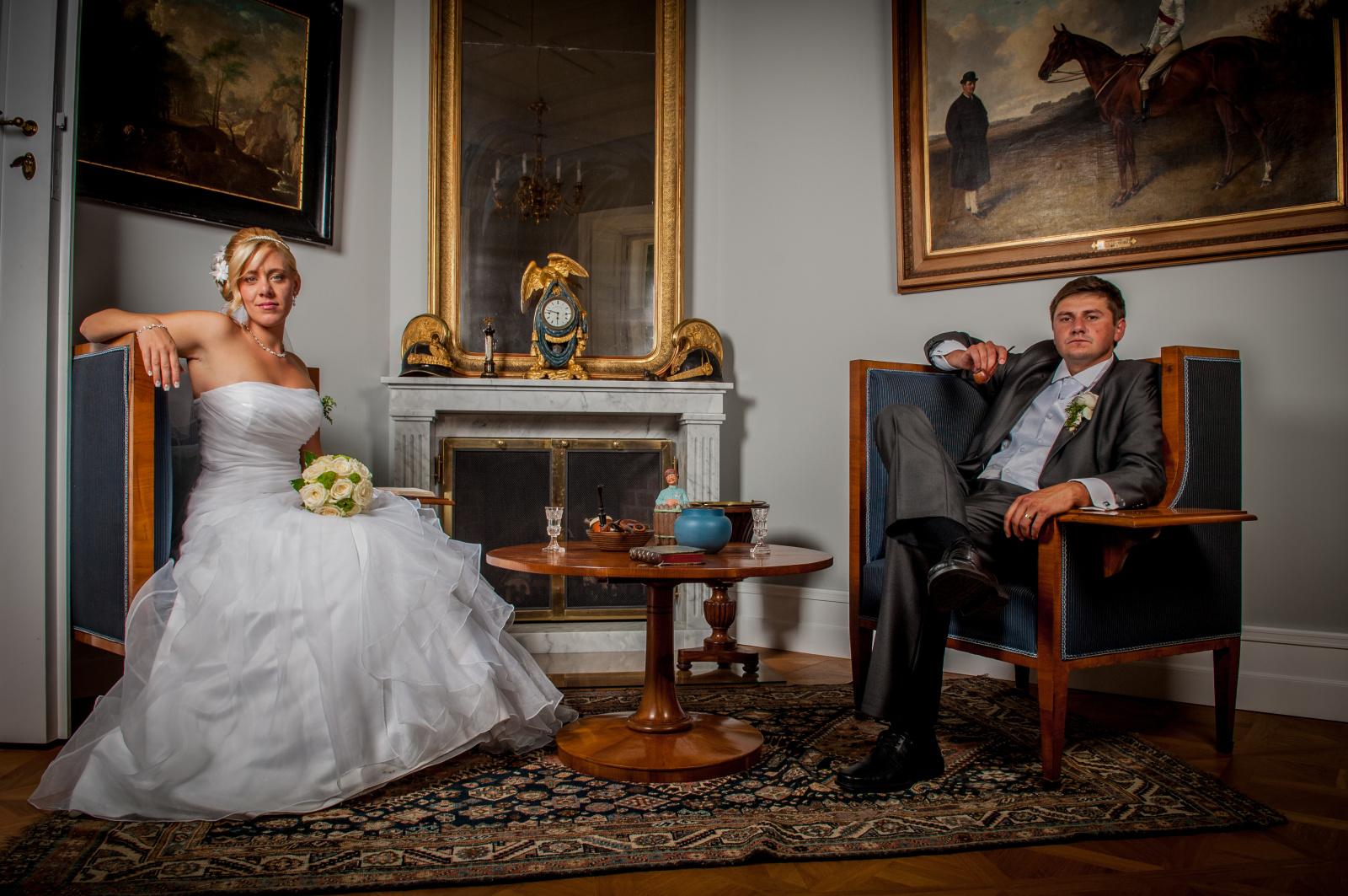 Fotografování svatby venku či uvnitř