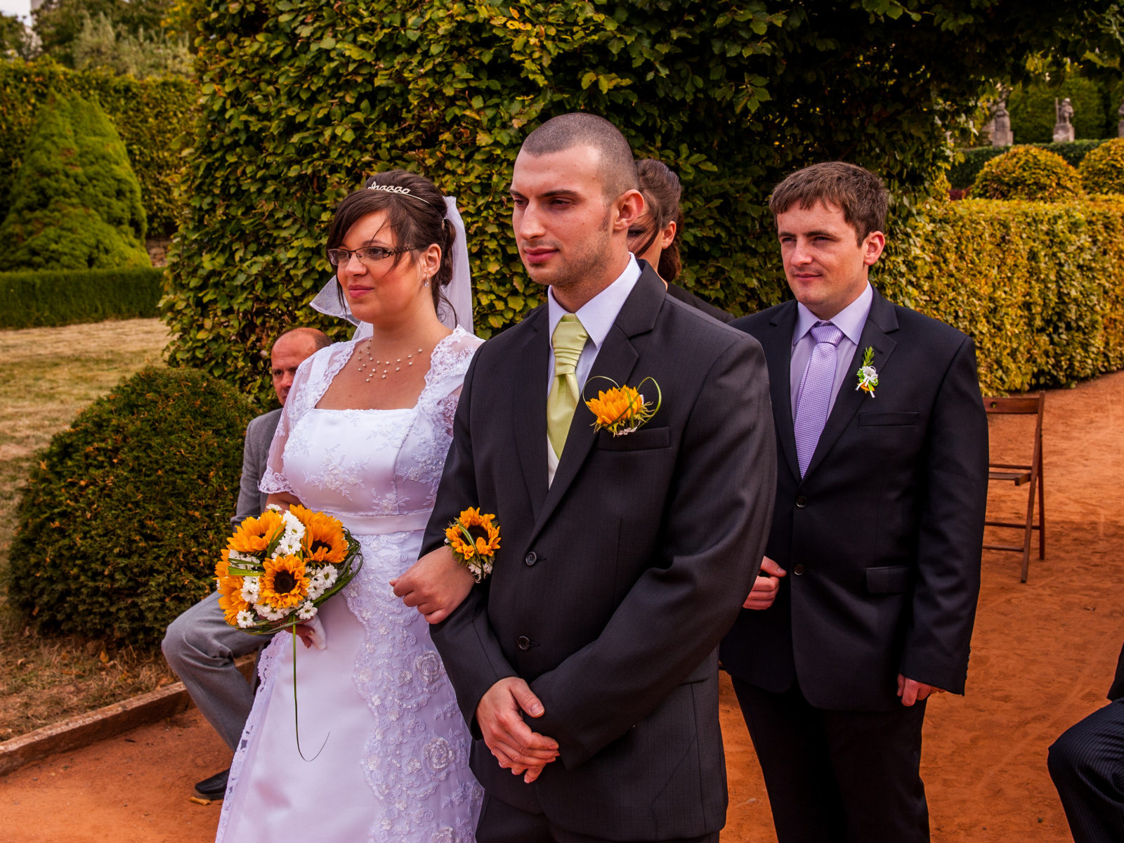 Podzimní focení svatby