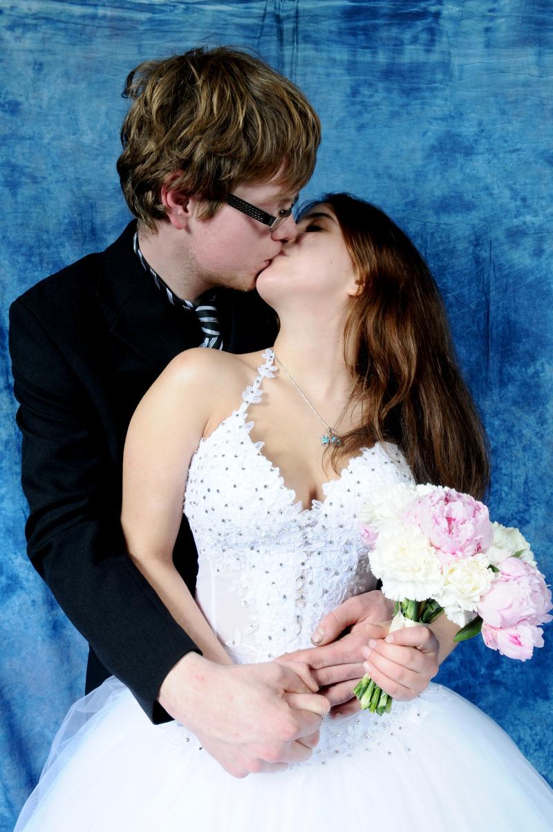 fotka z fotokoutku na svatebním veletrhu